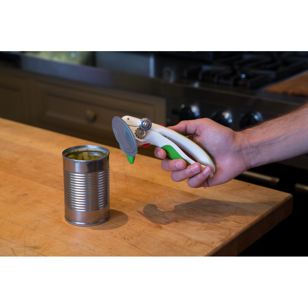 Zyliss Lock N' Lift Can Opener-Green