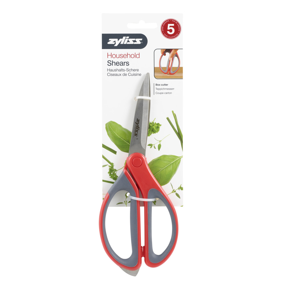 Zyliss Household Shears With Integrated Box Cutter
