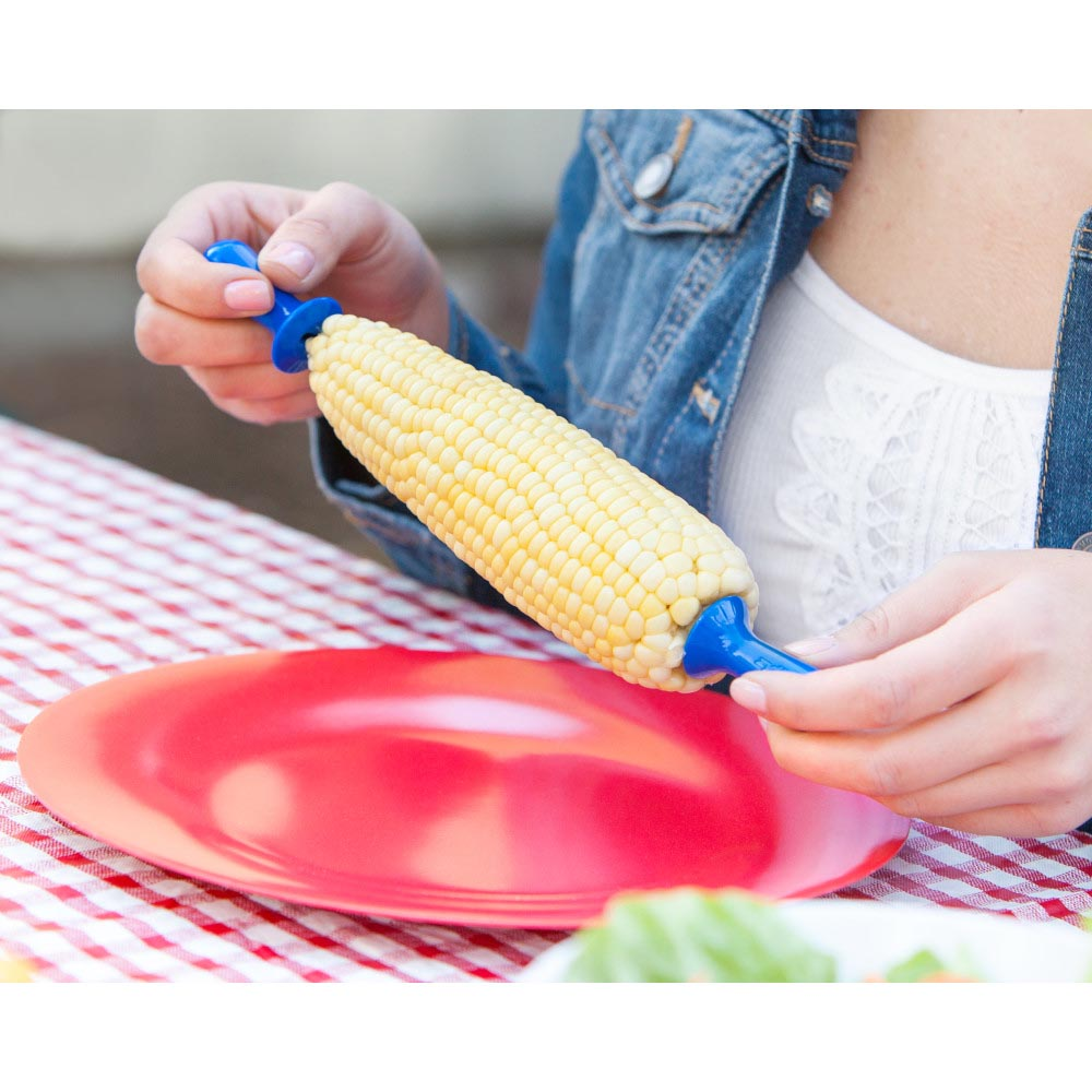 Zyliss Interlocking Corn Holders Assorted