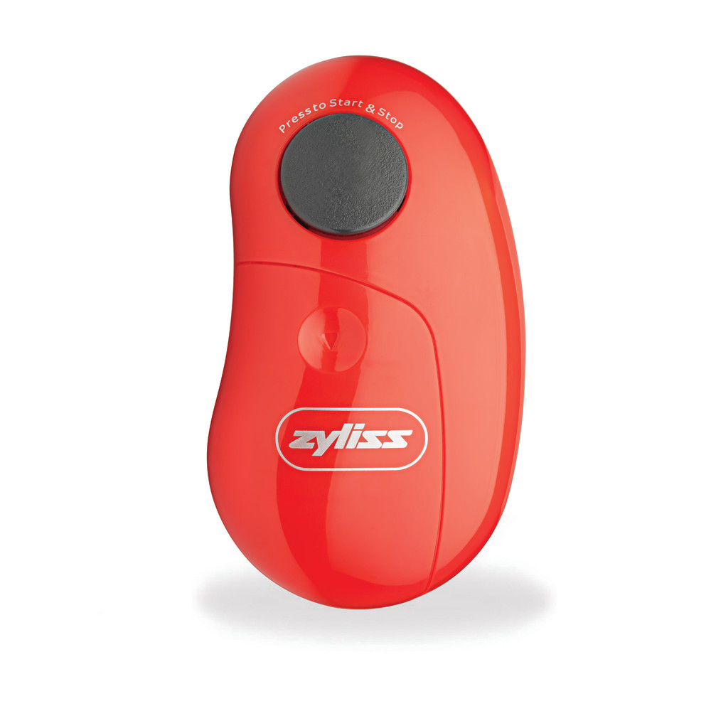 Zyliss EasiCan Electronic Can Opener - Red