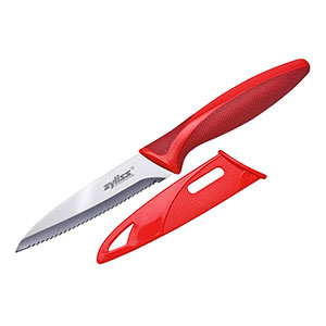 Zyliss Serrated Paring Knife With Cover, 3.75 in