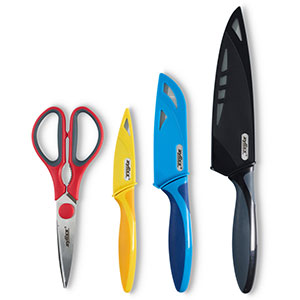 Zyliss 4-Piece Knife & Scissor Starter Value Set