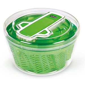 Zyliss Swift Dry Salad Spinner, Large, Green - E940005U
