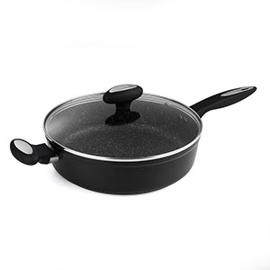 Zyliss 11 in. Ultimate Nonstick Saute Pan, Dishwasher & Metal Utensil Safe